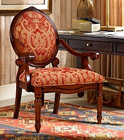 Madison Park® Brentwood Burgundy Accent Chair