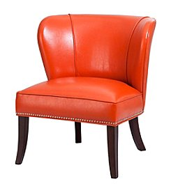 Madison Park® Hilton Faux Leather Accent Chair