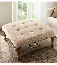 Madison Park® Darcy Cocktail Ottoman Table