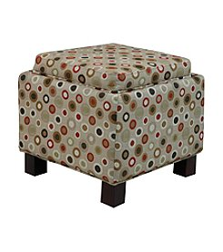 Madison Park® High Limit Circles Ottoman