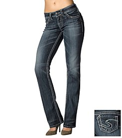 Silver Jeans Co. Suki Curvy Fit Straight Leg Jeans