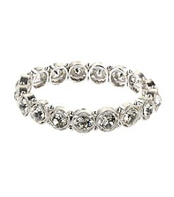 Napier® Silvertone Small Stretch Bracelet