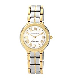 Anne Klein® Women's Classic Two-Tone Watch with Roman Numerals