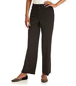 Rafaella® Petites' Short Gab Curvy Fit Pant