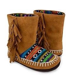 MUK LUKS Girls' Tiffany Slipper Boots