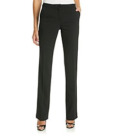 Ivanka Trump® Crepe Straight Leg Pants