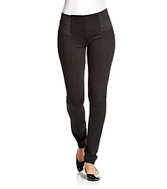 Boom Boom Juniors' Wide Waist Pull On Ponte Skinny Pant