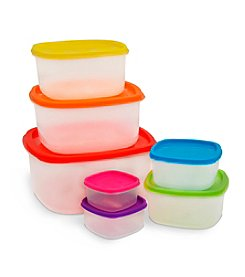 Ragalta® 14-pc. Storage Set with Colored Lids