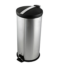 Ragalta® 7.9 Gallon Round Stainless Steel Trash Bin