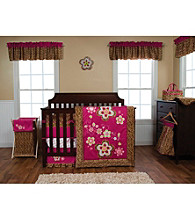Berry Leopard Baby Bedding Collection by Trend Lab