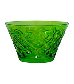 Zrike Brands Teardrop Green Set of 4 Bowls