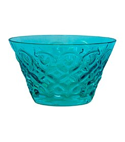 Zrike Brands Teardrop Blue Set of 4 Bowls