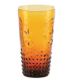 Zrike Brands Renaissance Amber Set of 4 Tumblers