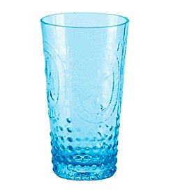 Zrike Brands Renaissance Blue Set of 4 Tumblers