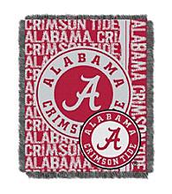 University of Alabama Jacquard Throw