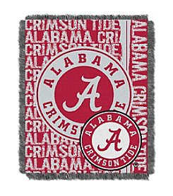 University of Alabama Jacquard Throw