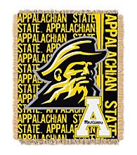 Appalachian State Jacquard Throw