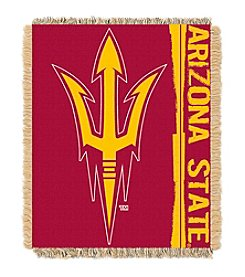NCAA® Arizona State University Jacquard Throw