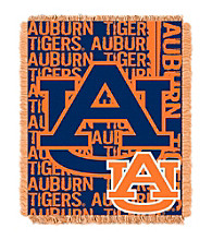 Auburn University Jacquard Throw
