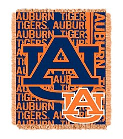 NCAA® Auburn University Jacquard Throw