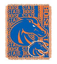 Boise State University Jacquard Throw
