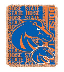 Boise State University Jacquard Throw