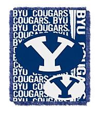 Brigham Young University Jacquard Throw