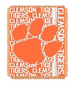 Clemson University Jacquard Throw