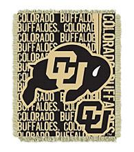 University of Colorado Jacquard Throw