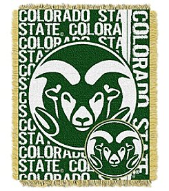 Colorado State University Jacquard Throw
