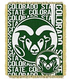 Colorado State University Jacquard Throw