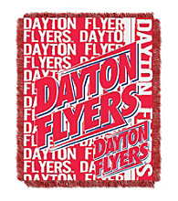 University of Dayton Jacquard Throw