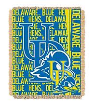 University of Delaware Jacquard Throw