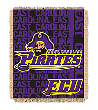 East Carolina University Jacquard Throw