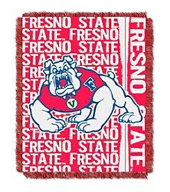 Fresno State University Jacquard Throw