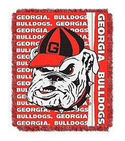 University of Georgia Jacquard Throw