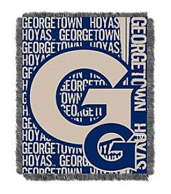 Georgetown University Jacquard Throw