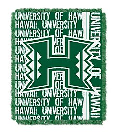 University of Hawaii Jacquard Throw