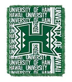 University of Hawaii Jacquard Throw