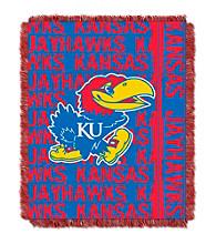 University of Kansas Jacquard Throw