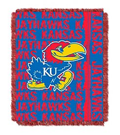 University of Kansas Jacquard Throw