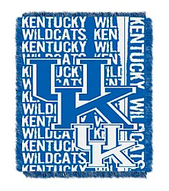 NCAA® University of Kentucky Jacquard Throw