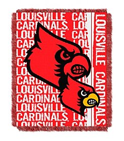 University of Louisville Jacquard Throw
