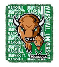 Marshall University Jacquard Throw