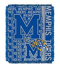 University of Memphis Jacquard Throw