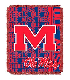 University of Mississippi Jacquard Throw