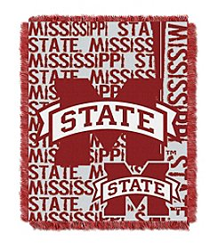 NCAA® Mississippi State University Jacquard Throw