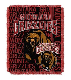 University of Montana Jacquard Throw