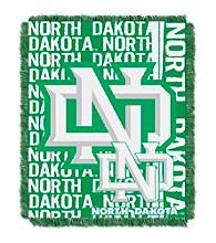 University of North Dakota Jacquard Throw