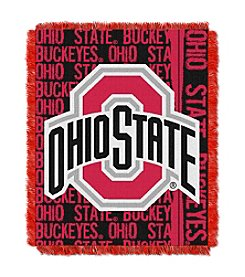 Ohio State Jacquard Throw